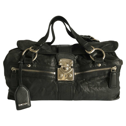 DKNY Leather handbag.
