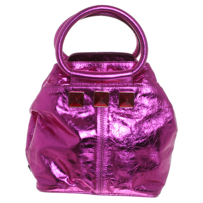 Marc Jacobs Handbag in pink metallic