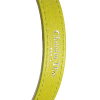 Christian Dior Belt in green