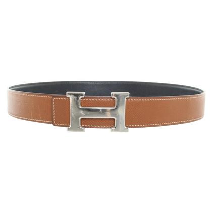 Hermès Belt with logo buckle