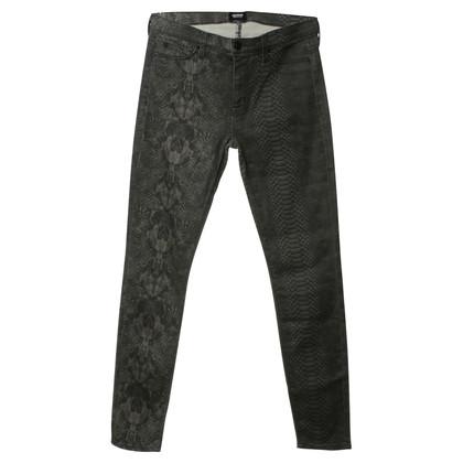 Hudson Snake print jeans
