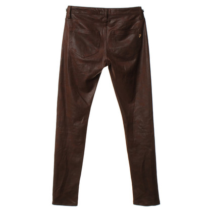 Dondup trousers in reptile look