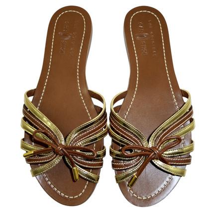 Car Shoe Riemchen- Sandalette aus Glattleder