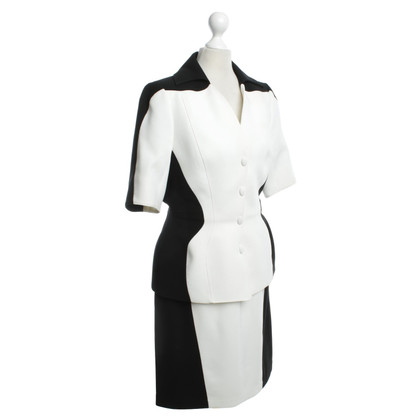 Mugler Costume in black / white