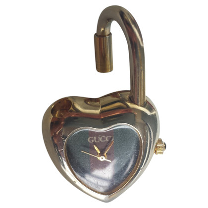 Gucci Anhänger/Schlüsselhalter mit Uhr
