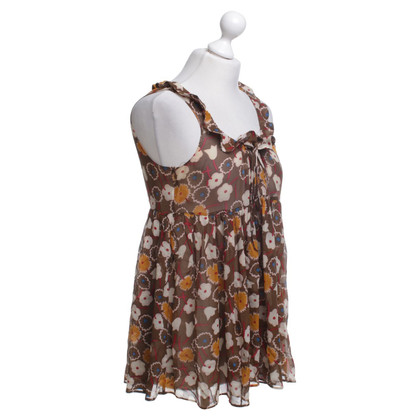Marni Sleeveless blouse with pattern