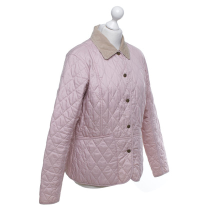 Barbour Quilted jacket in pink