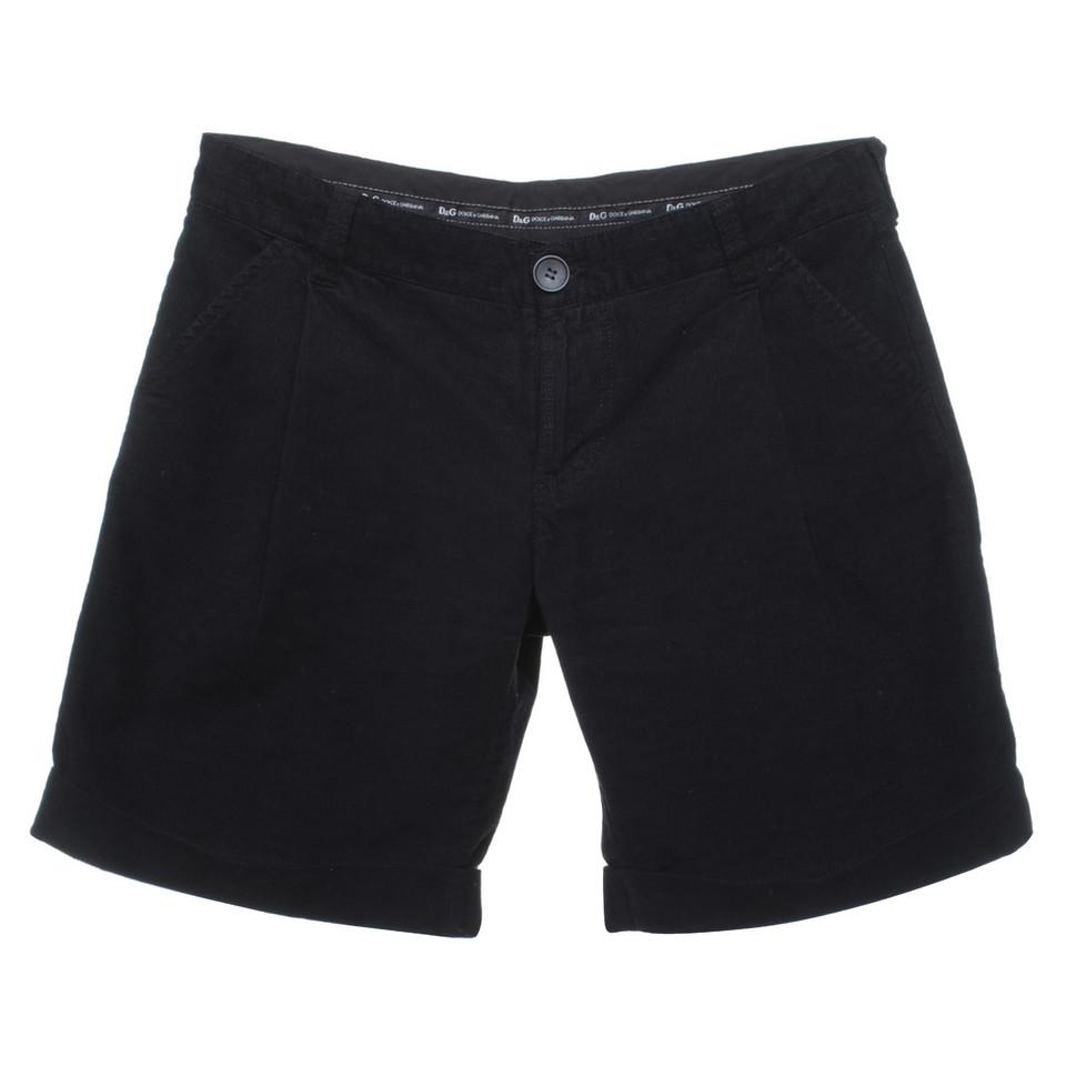 d g schwarze shorts aus cord second hand d g schwarze shorts aus cord gebraucht kaufen f r 64. Black Bedroom Furniture Sets. Home Design Ideas