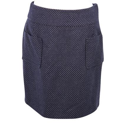 Hobbs Dotted skirt wool