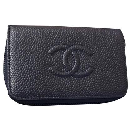 Chanel Portamonete Chanel blu
