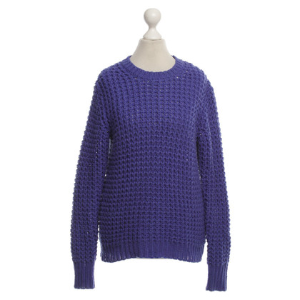 Acne Strickpullover in Violett