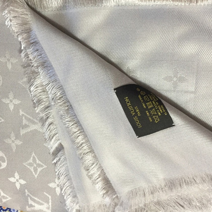 Louis Vuitton Monogram cloth in light gray