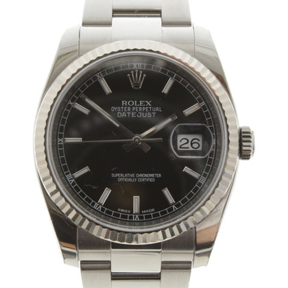 "Rolex ""Datejust 36"" made of stainless steel / white gold"