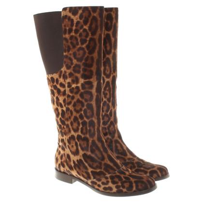 Dolce & Gabbana Boots Leopard