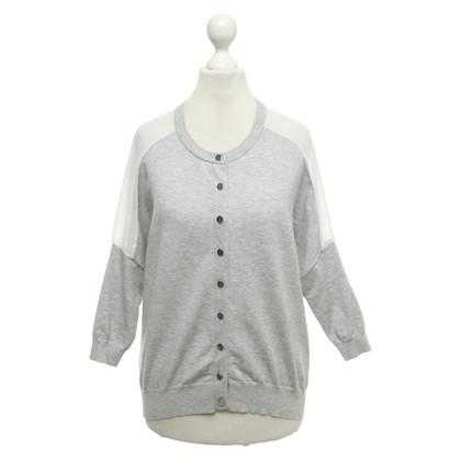 Karen Millen Cardigan in grey / cream