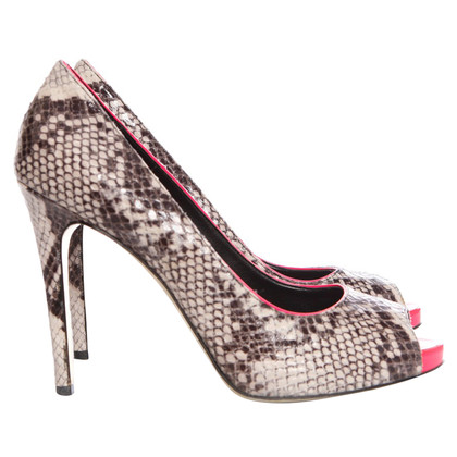 Stella McCartney pumps in python leather look