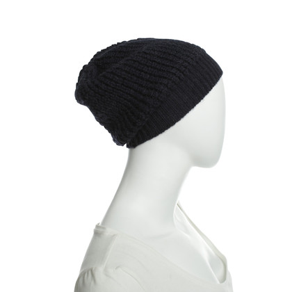 Stella McCartney Chunky knit hat in blue