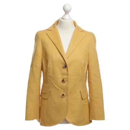 Akris Giacca di cashmere in giallo