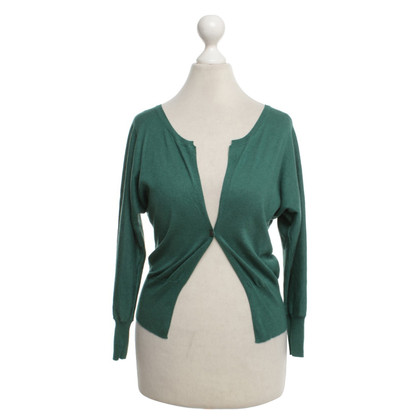 René Lezard Cardigan in verde