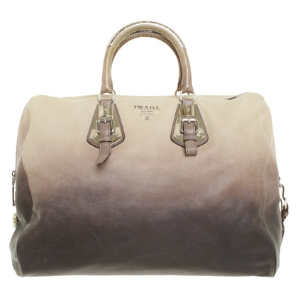 Prada Shoppers in grey / Beige