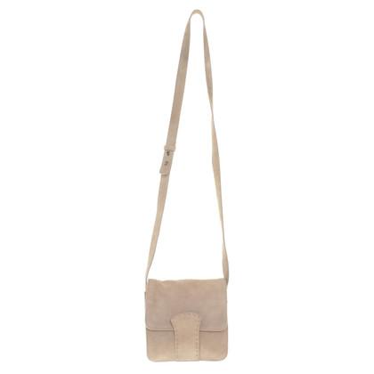 Strenesse Beige Suede Bag