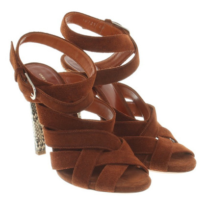 Dries van Noten Sandali a Brown