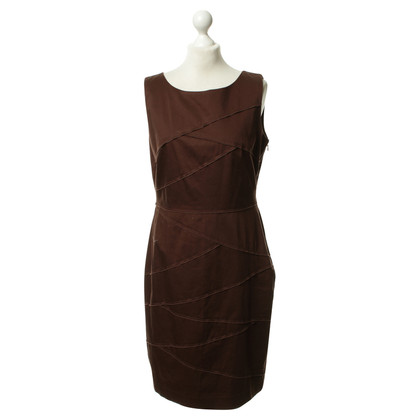 Calvin Klein Sheath dress in Brown