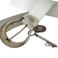 Christian Dior White Belt