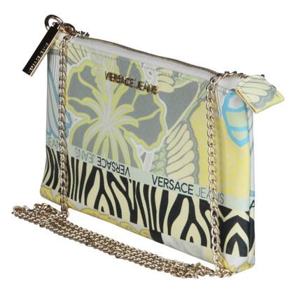 Versace Versace clutch Yellow Logo ferrous