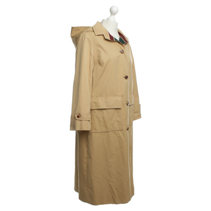 Hermès Long coat in beige
