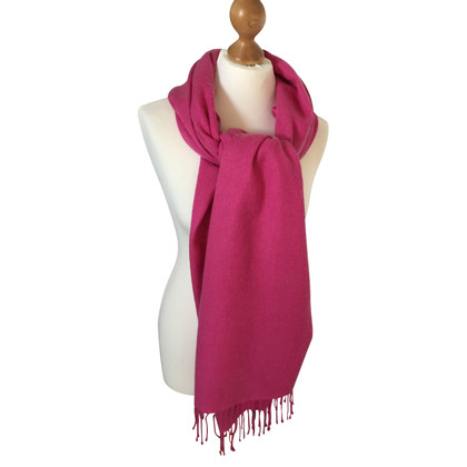 Other Designer Heartbreaker - cashmere scarf in pink