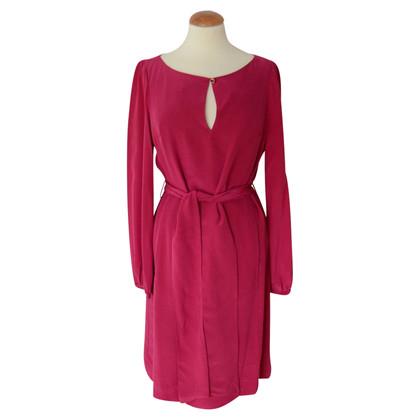Tory Burch zijden jurk met riem