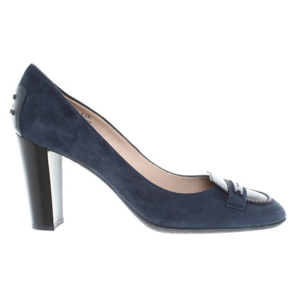 Tod's pumps in donkerblauw