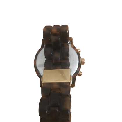 Michael Kors Wristwatch in gold / brown