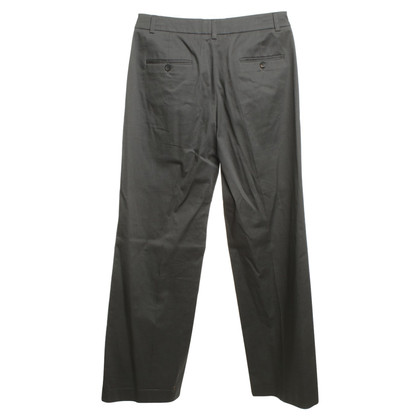 René Lezard Cotton pants in gray