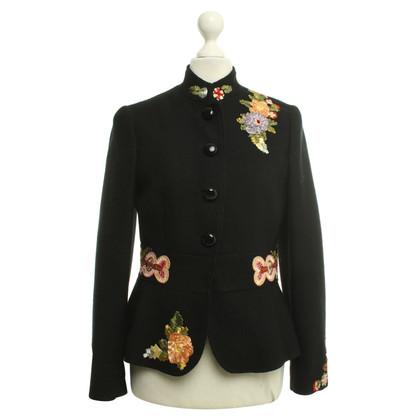 Moschino Cheap and Chic Kort jasje met borduurwerk