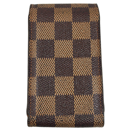 Louis Vuitton Cigarette case from Damier Ebene Canvas