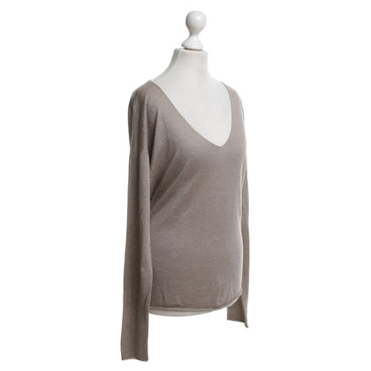 Zadig & Voltaire Pullover in Beige-Grau