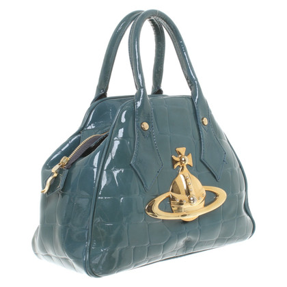 Vivienne Westwood Handbag with reptile embossing