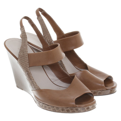 Costume National Sandals with wedge heel