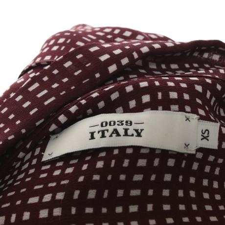 0039 Italy Gemusterte Bluse Bunt / Muster Kaufen Billig Großhandelspreis Geschäft Zum Verkauf Neue Und Mode Spielraum Neueste Bester Speicher Billig Online Zu Bekommen EgYnEA