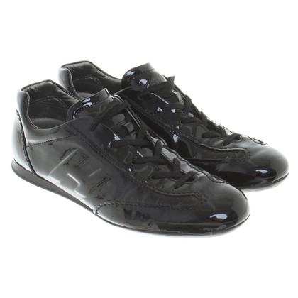 Hogan Sneakers aus Lackleder