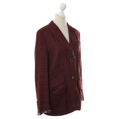 Rena Lange Blazer in Bordeaux