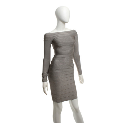 Hervé Léger Dress in grey