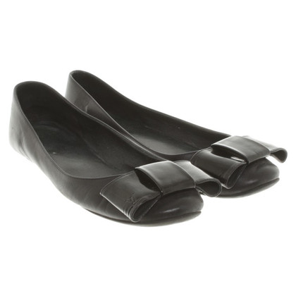 Louis Vuitton Ballerinas in Schwarz