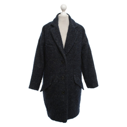 Isabel Marant Etoile Cappotto in lana blu