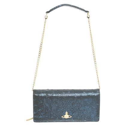 Vivienne Westwood Blue chain wallet