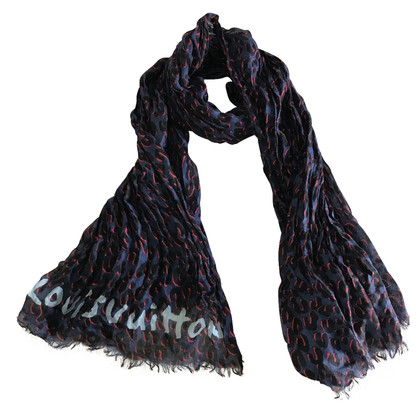 Louis Vuitton Scarf with leopard pattern