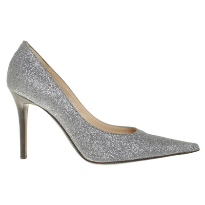 Pollini pumps in silver