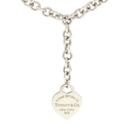 Tiffany & Co. Collana in argento con un ciondolo a cuore